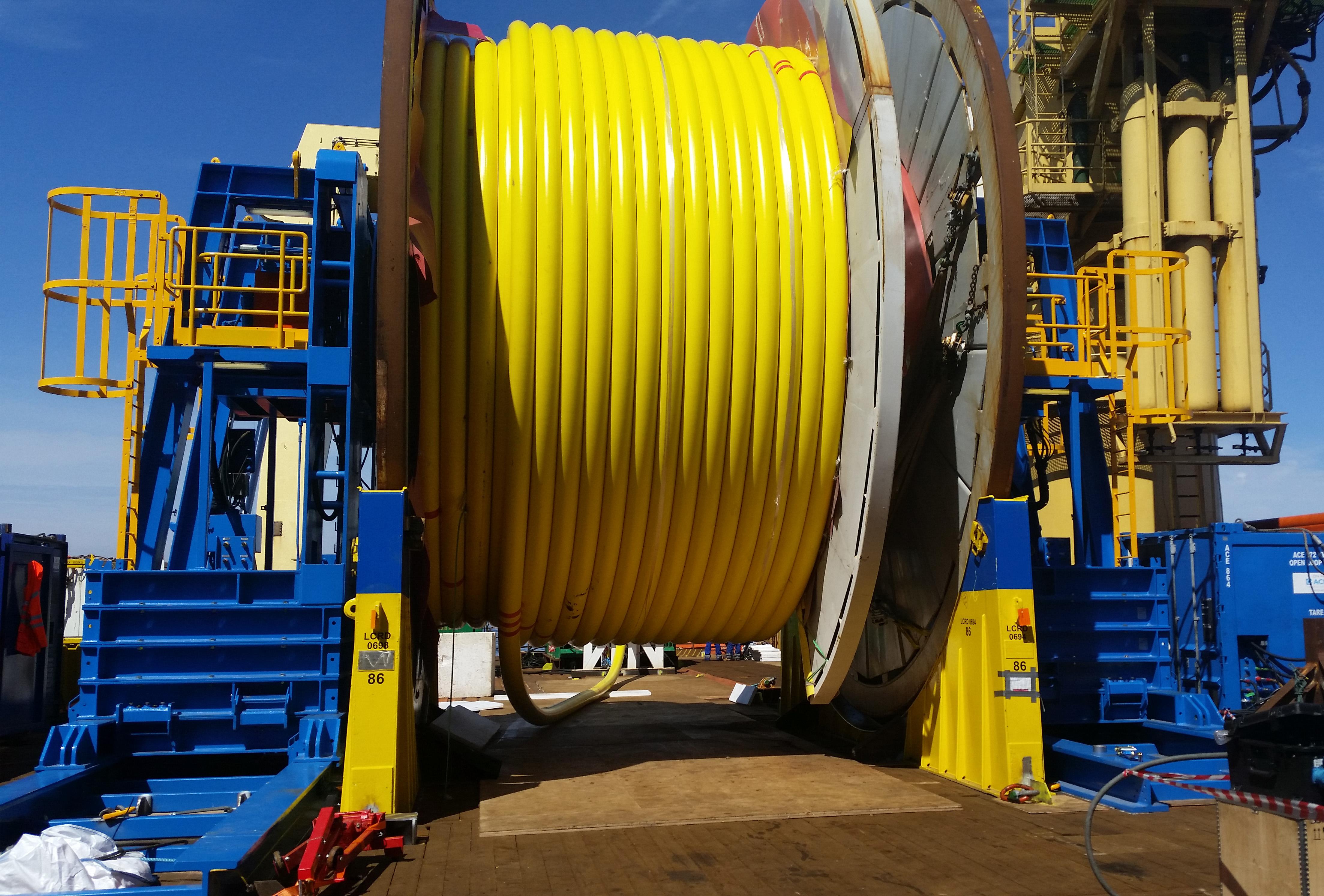 ACE 200 Tonne WLL Hydraulic Reel Drive System