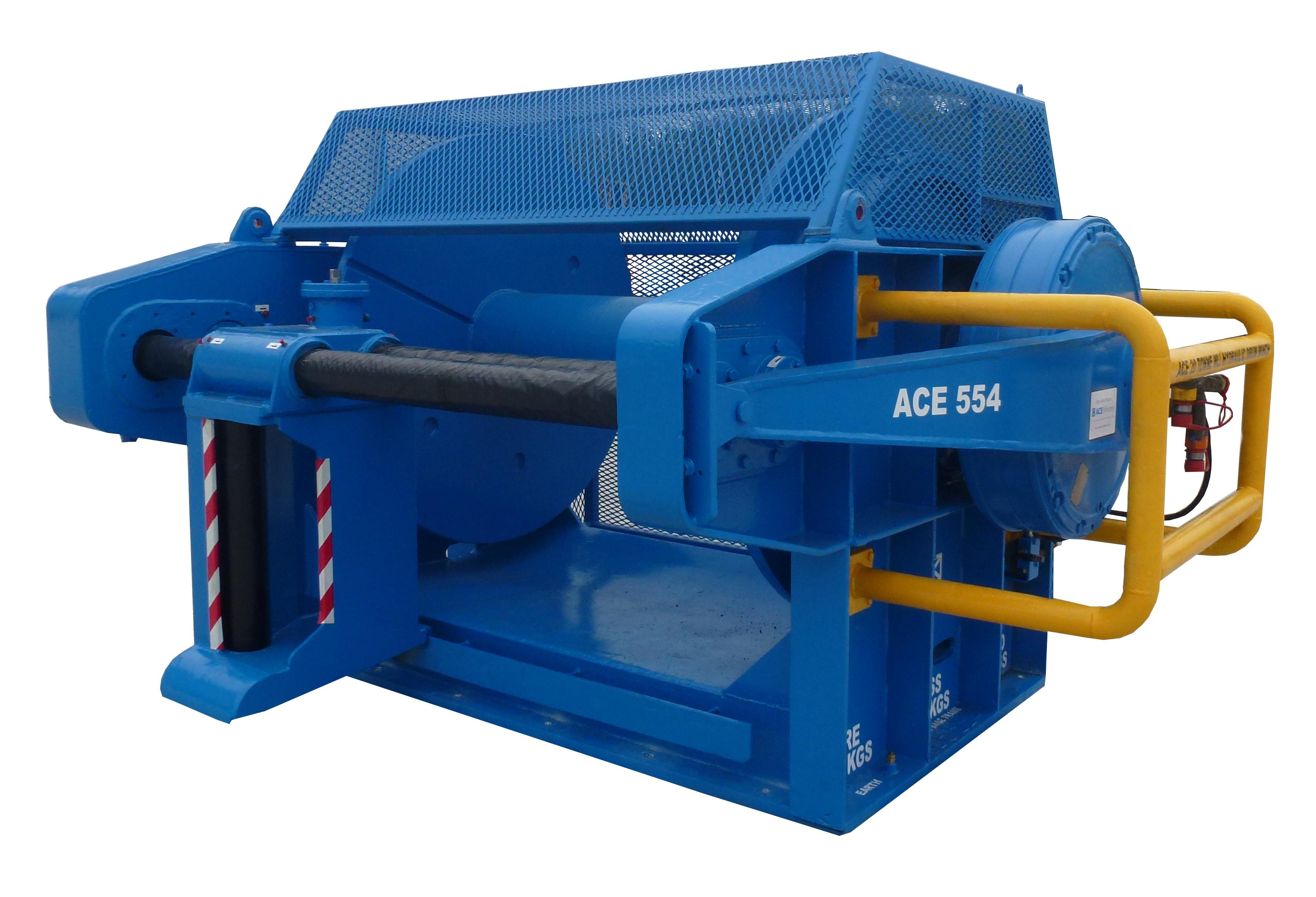 ACE 20 Tonne WLL Hydraulic Drum Winch