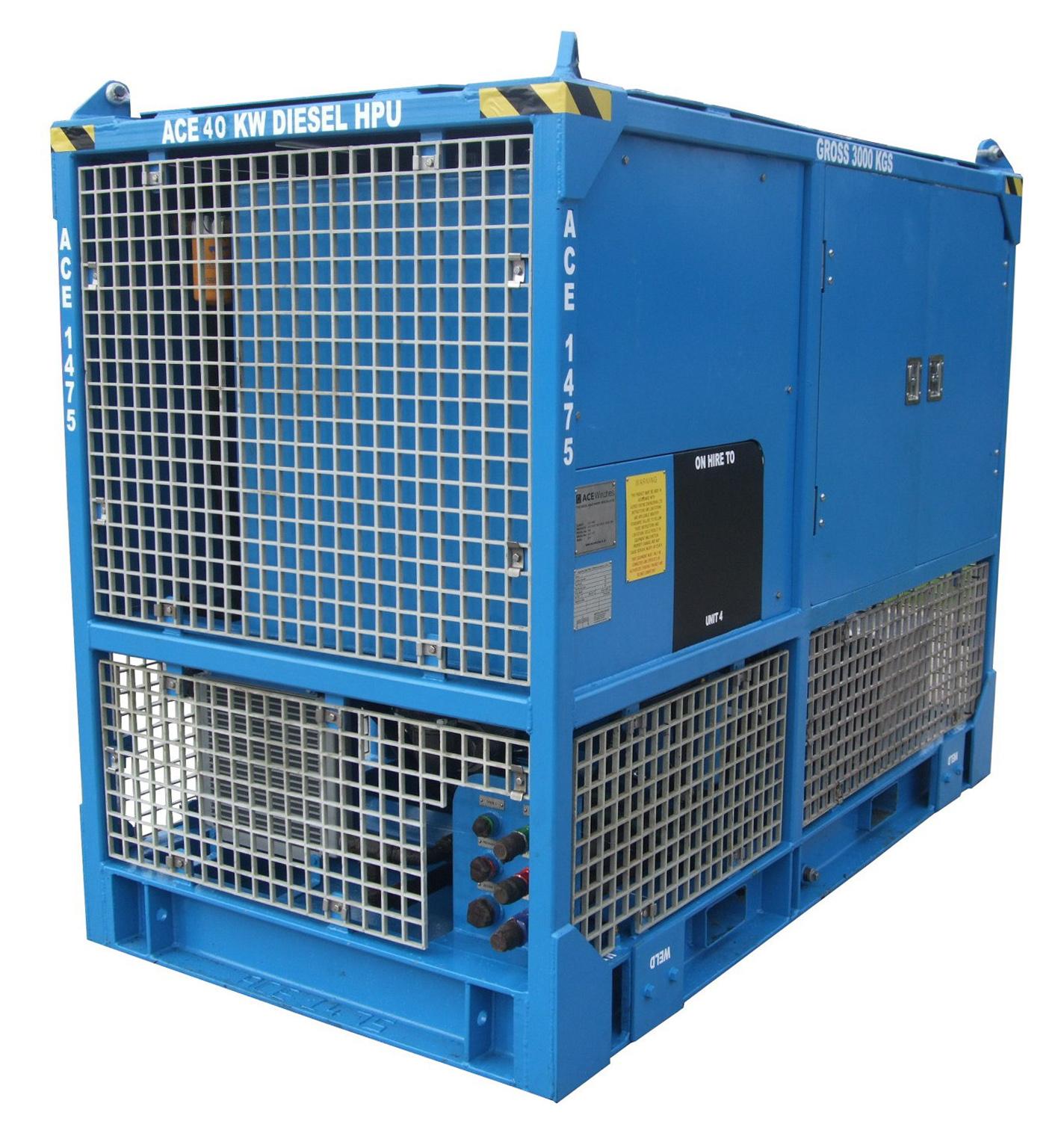 ACE 40kW Safe Area Open Loop Diesel HPU
