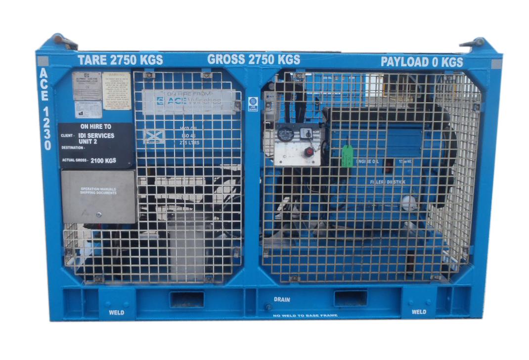 ACE 47kW Safe Area Open Loop Diesel HPU