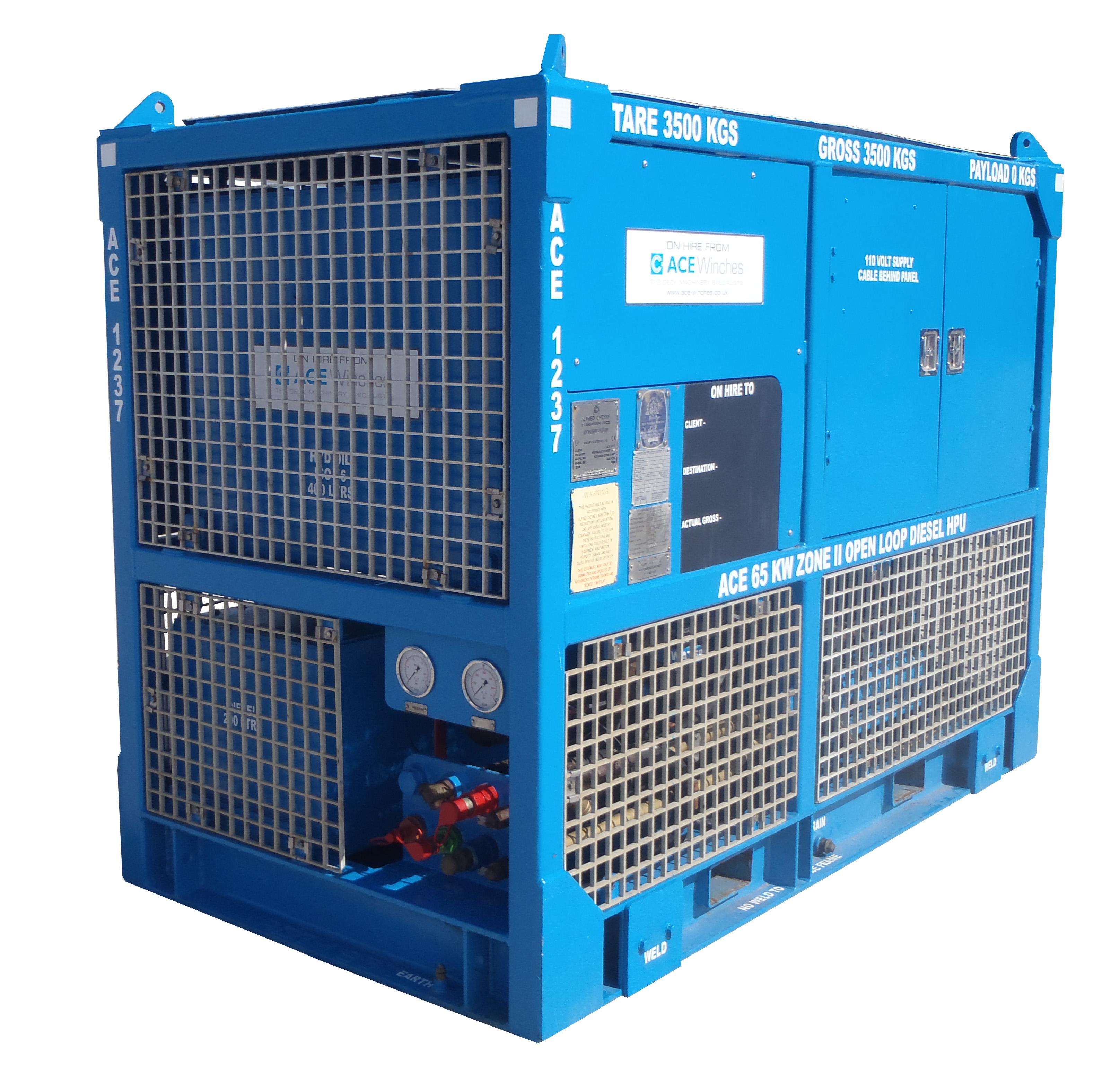 ACE 47kW Zone 2 Open Loop Diesel HPU