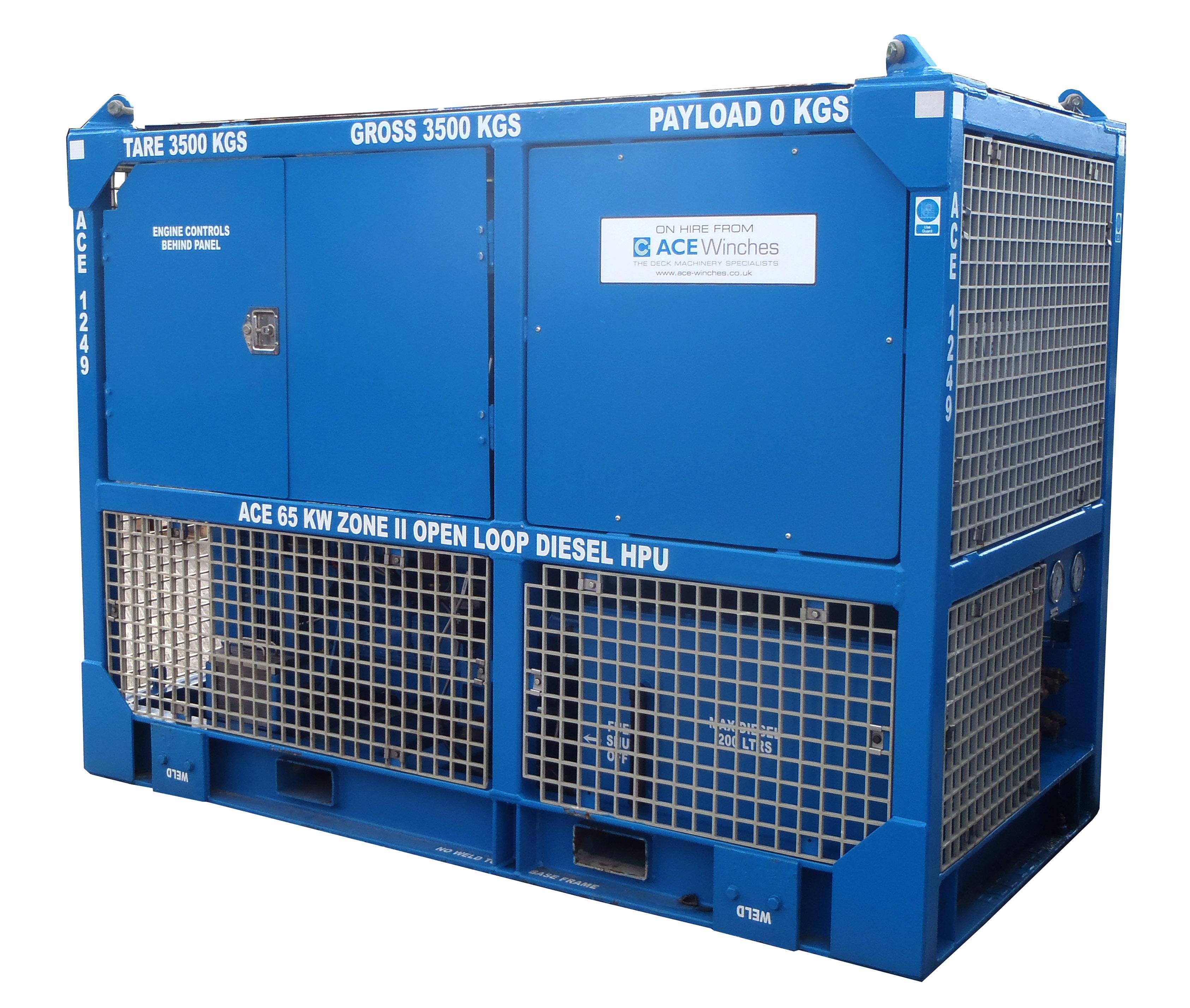 ACE 65kW Zone 2 Open Loop Diesel HPU