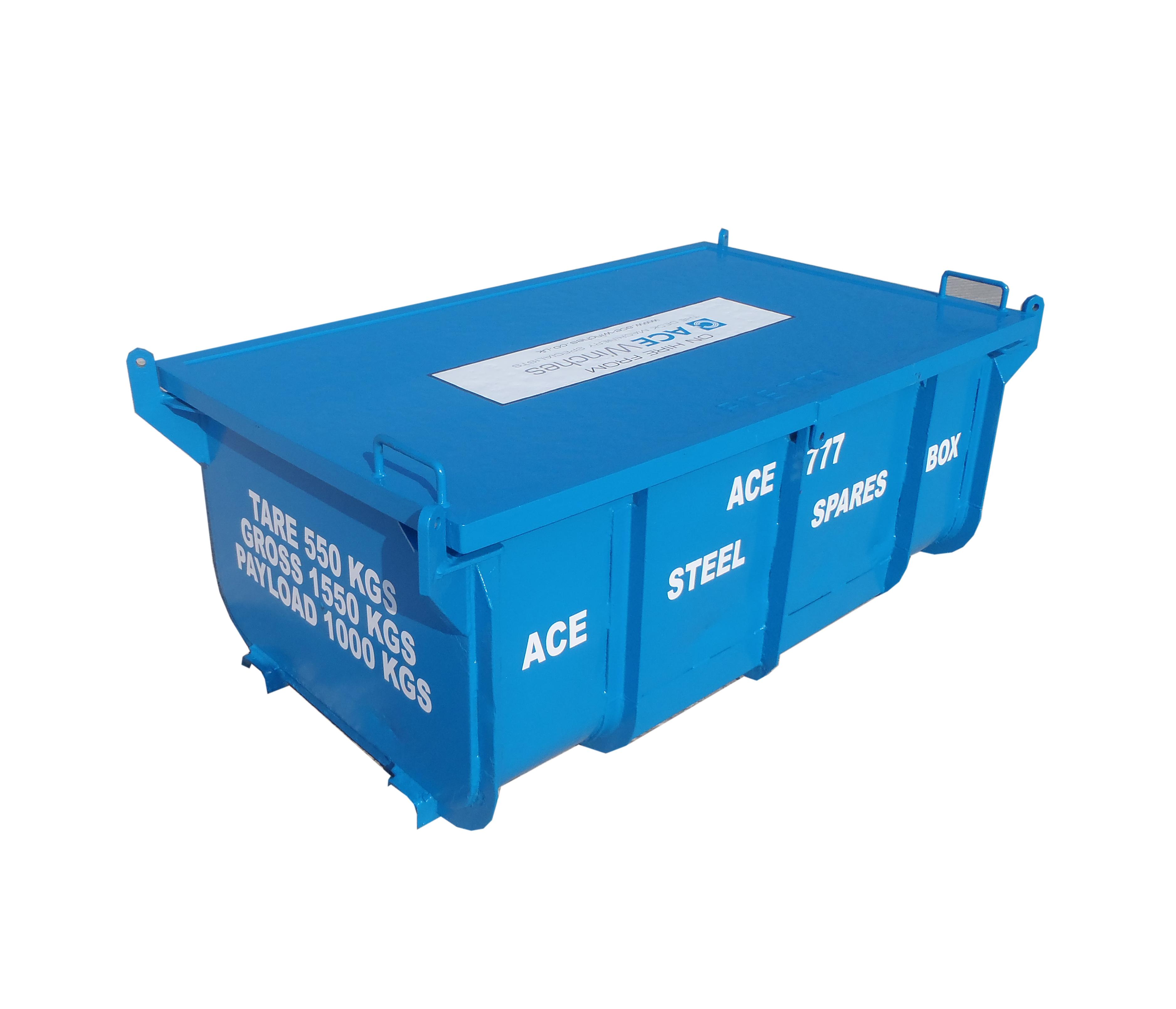 ACE Steel Transport Box
